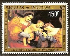 Wallis Et Futuna 1980  Yvertn° PA 107 *** MNH Cote 4,60 Euro Noël Kerstmis Christmas - Poste Aérienne