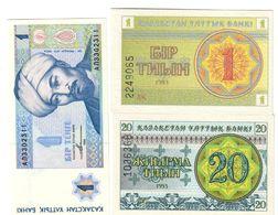 Kazakhstan Lot Set 3 UNC Banknotes .C. - Kazakhstan