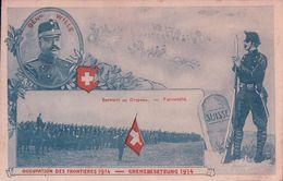 Armée Suisse, Occupation Des Frontières, Général WILLE (20.11.14) - Weltkrieg 1914-18