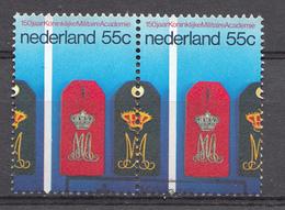Pays-Bas 1978  Mi.nr: 1126 Paar Militäirakademie Breda  Oblitérés / Used / Gestempeld - Periode 1949-1980 (Juliana)