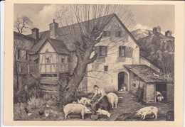 AK Max Rimboeck - Spätherbst - München, Haus Der Deutschen Kunst  (33477) - Peintures & Tableaux