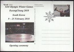 Croatia Zagreb 2018 / XIII Olympic Winter Games PyeongChang South Korea - Jeux Olympiques