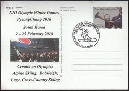 Croatia Zagreb 2018 / XIII Olympic Winter Games PyeongChang South Korea / Croatia On Olympics - Jeux Olympiques