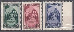 Yugoslavia Republic 1948 Mi#542-544 Mint Never Hinged - 1945-1992 Repubblica Socialista Federale Di Jugoslavia