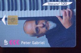 F1237A     PETER  GABRIEL  SO3    120U - Frankreich
