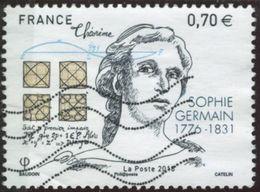 France 2016 Yv. N°5036 - Sophie Germain - Oblitéré - France