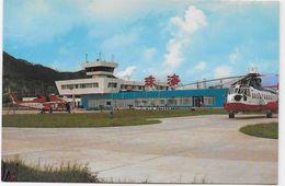 Post Card - Chine - The Zhuhai Heliport. - Cina