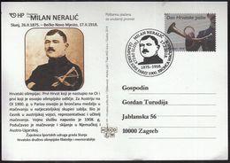 Croatia Slunj 2018 / Fencing / Milan Neralic / Olympic Games Paris 1900 Bronze Medal - Escrime