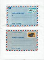 CTN27 - LES AEROGRAMMES DE FRANCE DU N° (Y/T) 1001 AU N° 1022 NEUFS AVEC VARIETES 1002a ET 1008 (VIOLET CLAIR) - Collections (sans Albums)