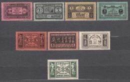 Grand Liban, Great Lebanon 1931 Timbres Taxe Yvert#29-35 Mint Hinged - Grand Liban (1924-1945)