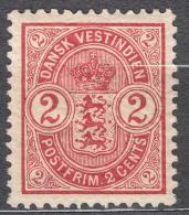 Denmark Danish Antilles (West India) 1903 Mi#27 Yvert#17 Mint Hinged - Dinamarca (Antillas)