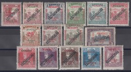 Hungary Szegedin Szeged 1919 Mi#26-40 Mint Never Hinged, Expert Marks - Szeged