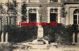 """89 Yonne - CHEROY - """" Le Monument """" - Cheroy"""