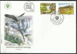 SRB 2014-55020-1 SAVE EUROP NATURE, SERBIA, FDC - Serbien