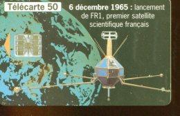 F629  FRF1 SATELLITE PLEUMEUR 8  50U - France