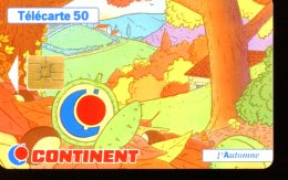 F783  CONTINENT AUTOMNE  50U - France
