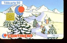 F807  CONTINENT HIVER - 1997