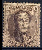 1863 - Nr 14A - 361 Tirlemont - 1863-1864 Médaillons (13/16)