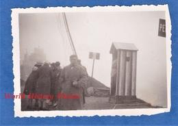 Photo Ancienne Snapshot - Poste Frontière à Identifier - Douane ? Douanier ? - Grenze - Guerre, Militaire