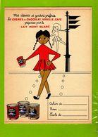 Protege Cahier  :Creme Au Chocolat Vanille Café  TONIMALT - Protège-cahiers