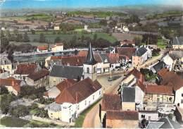 71 - ST BERAIN SUR DHEUNE : Vue Générale - CPSM Dentelée Colorisée Grand Format Postée 1966 - Saône Et Loire - France