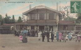 FONTENAY SOUS BOIS : La Gare - Fontenay Sous Bois