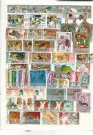 40460 ) Collection Burundi Semi Postal Brunei Bahrain  Overprint  Queen Postmark - Stamps