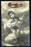 ENFANT - Fillette Avec Branche De Gui - Circulé - Circulated - Gelaufen - 1912. - Enfants