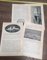 ENV 1905 LES GLACIERS QUI FLOTTENT MERS POLAIRES SPITZBERG ICEBERG GROENLAND - Vieux Papiers