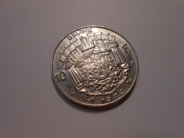 Belgien  10 Franc  Kursmünze  1972  Lll Vz - 1951-1993: Baudouin I