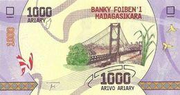 MADAGASCAR 1000 ARIARY ND (2017) P-100a UNC  [MG335a] - Madagascar