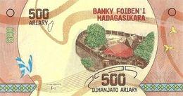 MADAGASCAR 500 ARIARY ND (2017) P-99a UNC [MG334a] - Madagascar