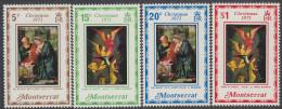 MONTSERRAT, 1971 XMAS 4 MNH - Montserrat