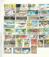 40475 ) Collection Djibouti Dubai Postmark - Stamps