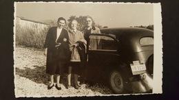 Old Orig. Photo TAXI LABIN Old Car Oldtimer Istra Croatia Istria - Photography