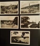 Lot Of 5 Old Orig. Photos Abbazia  Opatija Ed. A. Traldi - Milano Istra Croatia Istria Carnaro - Photography