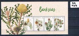 Australia 2018  Banksias 4val M/ Sheet Muh AA923 - 2010-... Elizabeth II