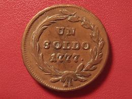 Italie - Duché De Milan - Un Soldo 1777 S Schmollnitz 7910 - Monedas Transitorias