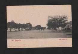 Postcard 1900 Year ANGOLA BENGUELA RUA PALUA CID - AFRICA AFRIKA AFRIQUE - Angola