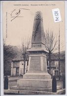 THUEYTS- MONUMENT DES MORTS POUR LA PATRIE - France