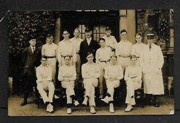 Boys School Cricket Team, Includes Umpire, Tutor. (Possibly S.African), Not Posted - Cricket