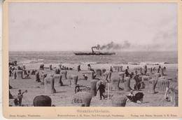 Norderney  Strandkorbkolonie - Photo Format 11 X 16.5 Cm - Fotos
