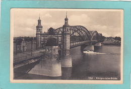Old Postcard Of Konigin Luise Brucke,Tilsit,Sovetsk,Russia,V33. - Russia