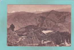 Old Postcard Of Lebong, Darjiling, West Bengal, India,V34. - India