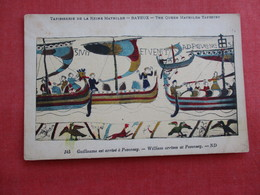 Williams Arrives At Pevensey Queen Mathilda Tapestryref 2866 - History