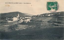 H67 - 01 - SAINT-MARTIN-DU-MONT - Ain - Vue Générale - France