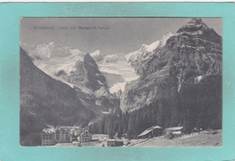 Old Postcard Of Grandhotel Trafoi Mit Madatsch-Ferner,Trafoi, Trentino-Alto Adige, Italy,V45. - Italy