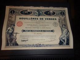 HOUILLERES DE VENDES (FONDATEUR) Imprimerie RICHARD - Non Classés