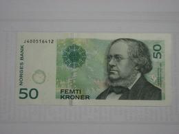 Norvège - Billet De 50 Kroner - 2011 - Peter Christen Asbjornsen - Neuf - Noruega