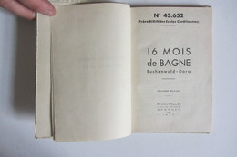 16 Mois De Bagne Buchenwald Dora  Frère Birin Matricule N°43.652 - Books, Magazines, Comics